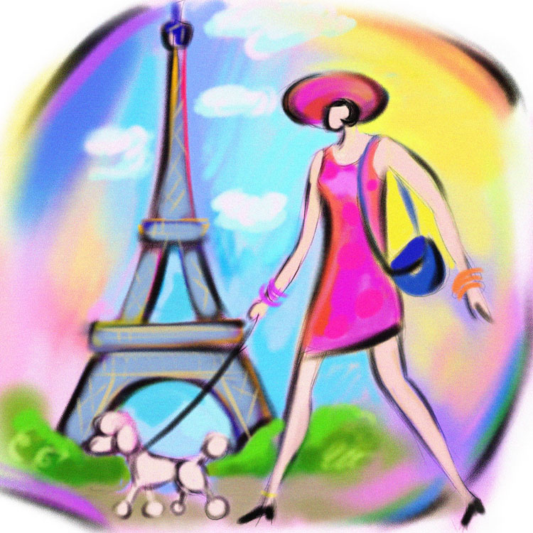 Ben Franklin Crafts and Frame Shop: Girls Night Out in Paris