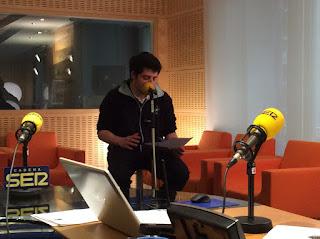 Concurso LocosxCiencia Fundación Telefónica Cadena SER Radio.
