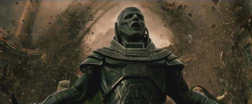 Oscar Isaac as Apocalypse in X-Men: Apocalypse
