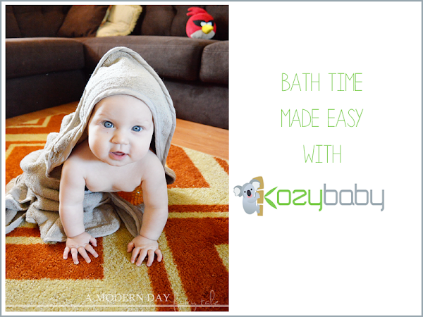 Bath Time Made Easy with KozyBaby {A Review}