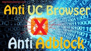 Cara redirect visitor UCbrowser ke Google chrome