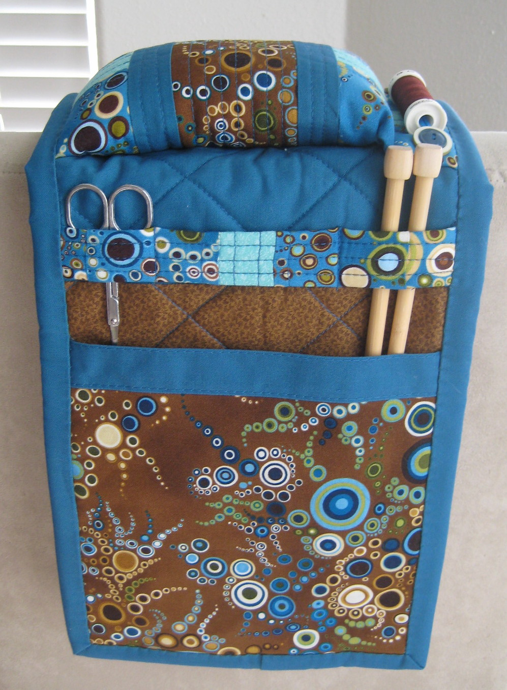 Sister Of The Divide: Arm Chair Caddy for Kim