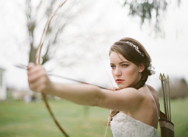 Absolutely Beautiful Bridal Hair Hunger Games Katniss