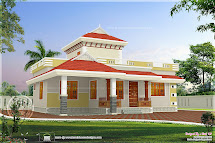 1195 Square Feet Beautiful Small House - Kerala Home