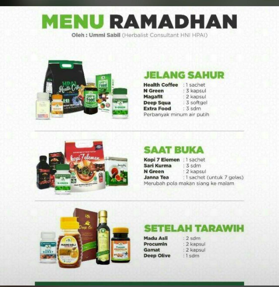 Pasang Iklan Gratis Online Internet Saat Nya Hijrah Ke Produk Extrafood Hpai Herbal Hni