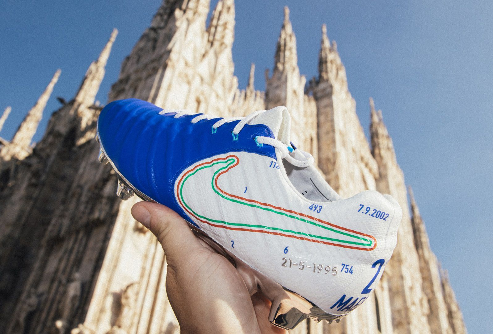 reputable site 18103 84b89 Special Nike Tiempo Legend Andrea Pirlo Boots Revealed ...