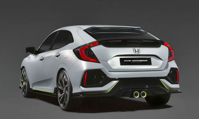 2017 Honda Civic Hatchback Debuts