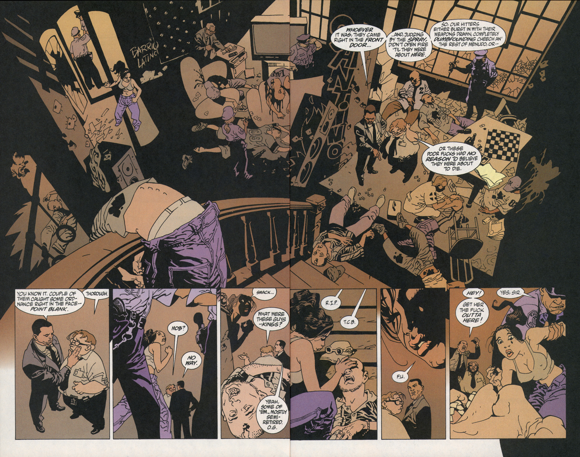 Read online 100 Bullets comic -  Issue #2 - 15