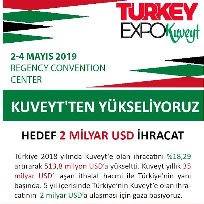 TURKEY EXPO KUVEYT (2-4 MAYIS 2019)