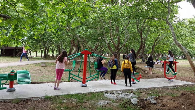 Νέα υπαίθρια όργανα γυμναστικής σε διάφορα σημεία του Δήμου Αλεξανδρούπολης