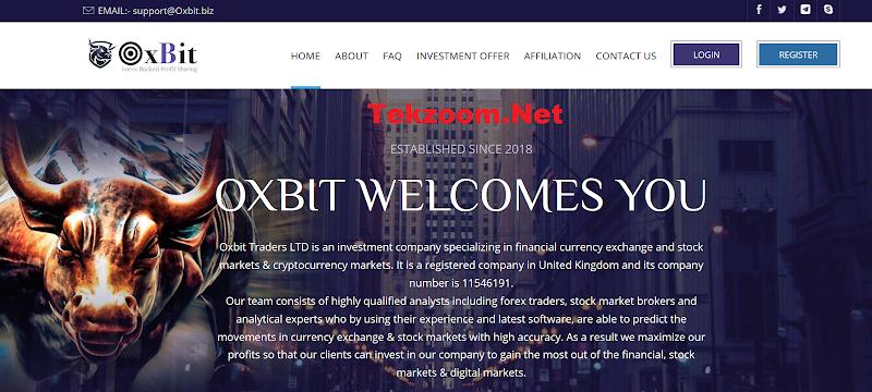 [SCAM] Review Hyip OXBIT - Lãi up 9% hằng ngày - Thanh toán tức thì