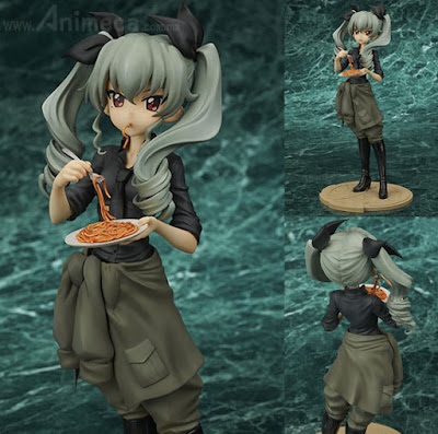 Figura Anchovy Girls und Panzer the Movie