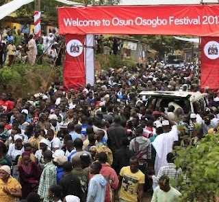GOLDBERG SUPPORTS OSUN OSOGBO FESTIVAL 2016