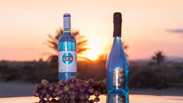 Winners of our giveaway with New Blue Wine.