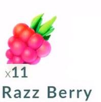 12. Razz Berry (Raspberry)