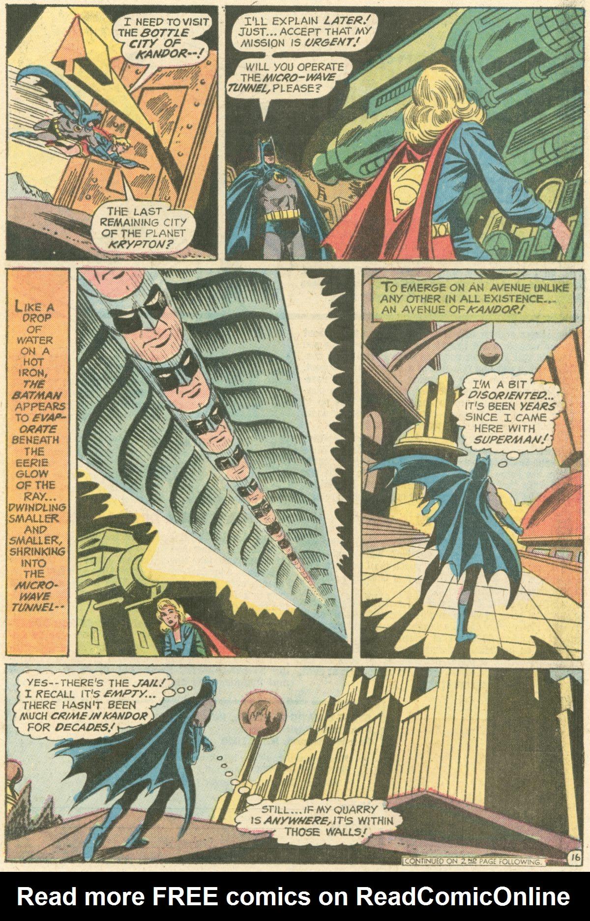 Read online World's Finest Comics comic -  Issue #211 - 19