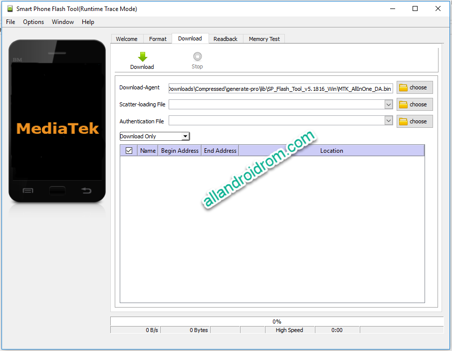 Download SP Flash Tool And How To Use SP Flash Tool