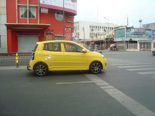 Transporte en coche por Vietnam