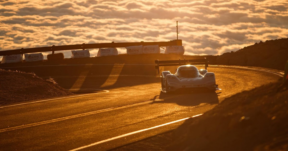 VW Electric Race Car Smashes Pikes Peak's Overall Record