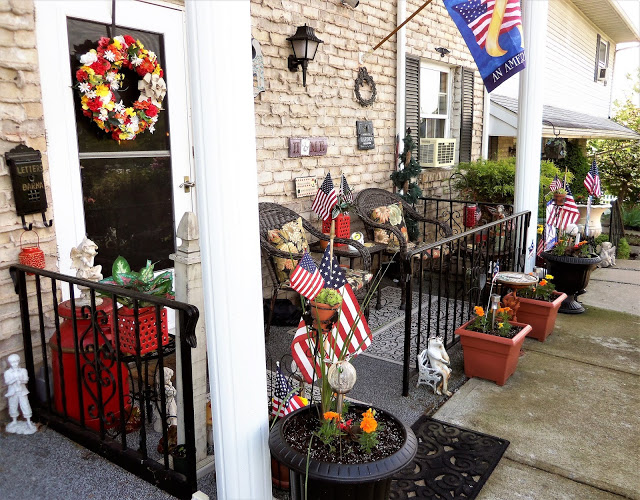 Early Summer Front Porch, 2019