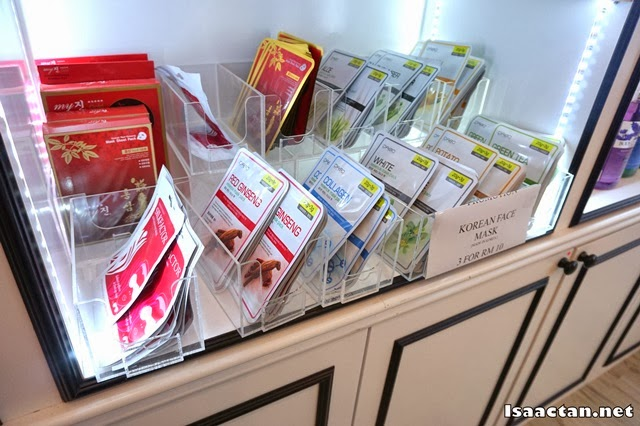 Various facial mask on sale