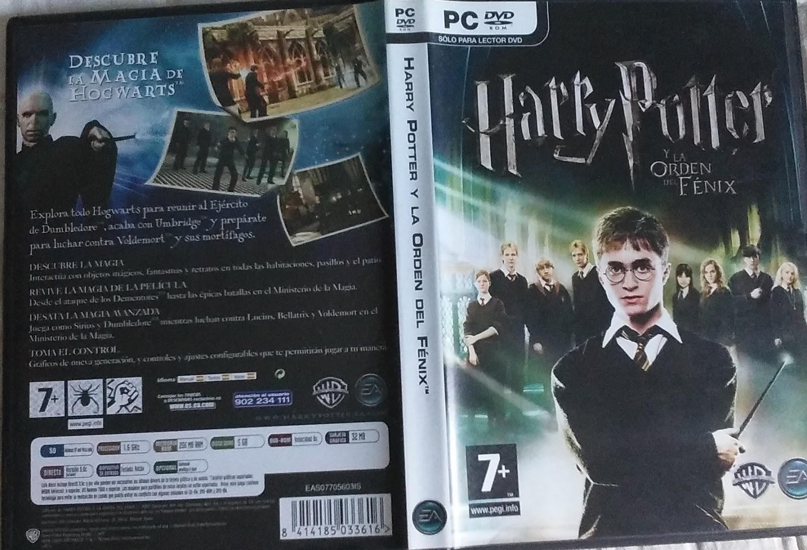Mis Guias De Juegos Harry Potter Y La Orden Del Fenix Juego Pc