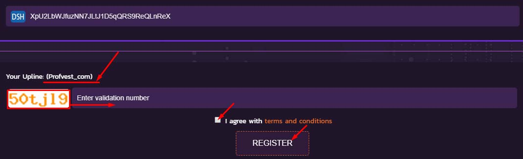 Регистрация в Wssavior 3