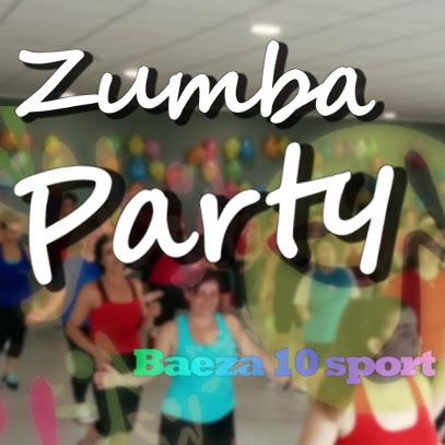 Zumba party 10 sport Baeza