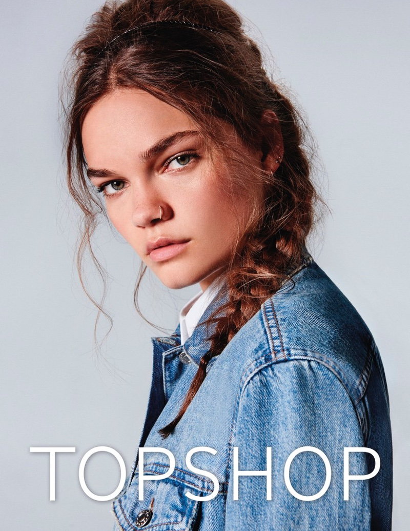 Topshop Jeans Spring/Summer 2017 Campaign