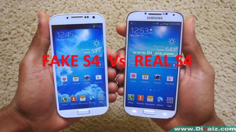 Cara Membedakan Samsung Galaxy S4 GT-I9500 Asli dengan S4 Replika