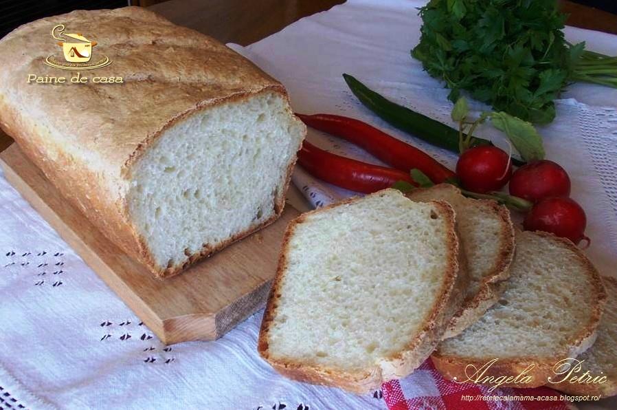 Reteta paine de casa, paine de casa traditionala