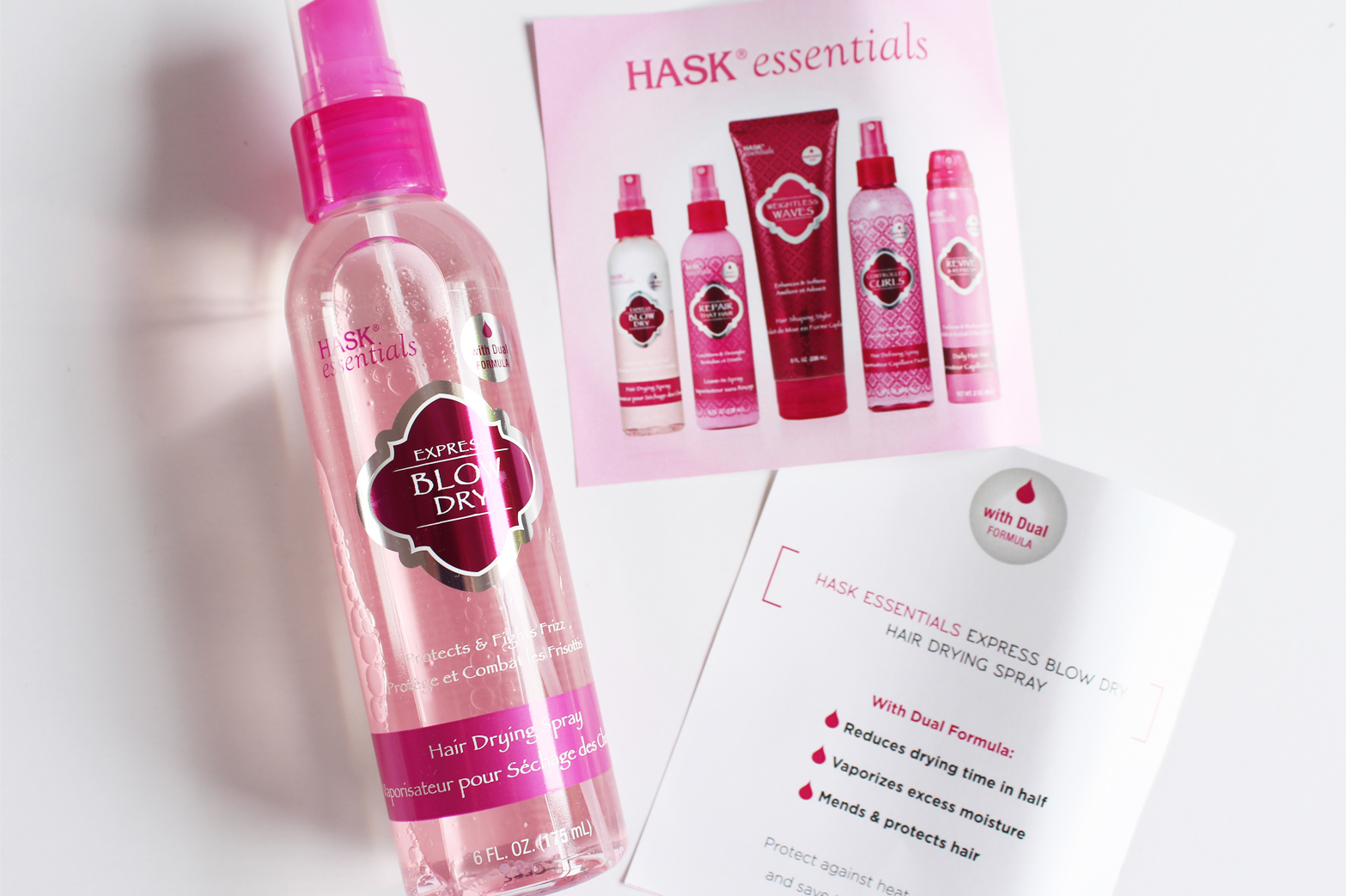 HASK ESSENTIALS | Repair That Hair + Express Blow Dry - CassandraMyee