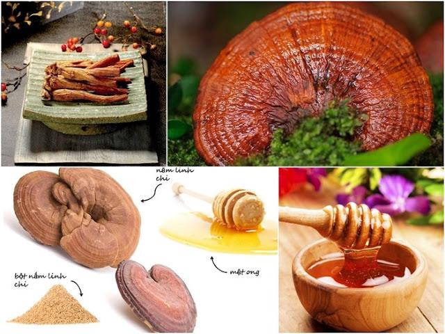 công dụng của nấm linh chi đối với sức khỏe