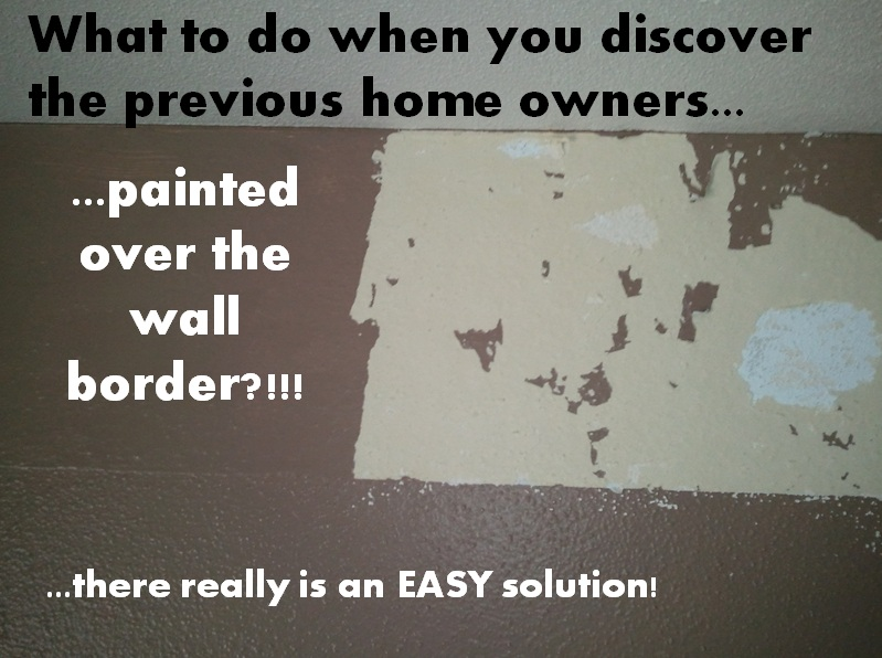 Anton Murals: How to Remove a Wall Border the EASY Way