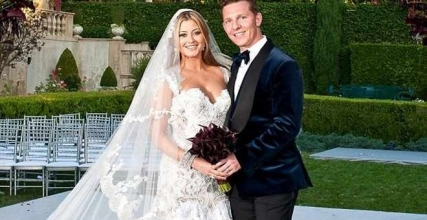 Holly Valance And Her Billionaire Nick Candy Wedding On Saay Was Magnificent The Hy Tied Knot During A Lavish Ceremony Held In Beverly