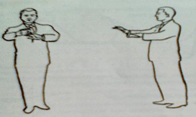 Teknik Gerakan Memberi Aba - Aba Paduan Suara Sikap Tubuh Konduktor