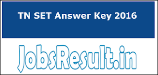 TN SET Answer Key 2016