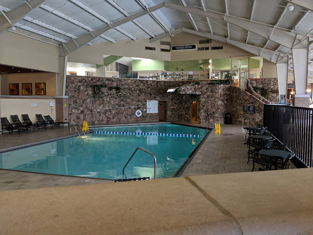 Perfect Winter Weekend at Pheasant Run Resort pool
