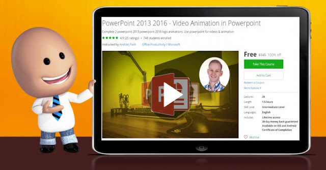 [100% Off] PowerPoint 2013 2016 - Video Animation in Powerpoint| Worth 145$