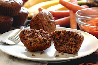 CRAZY CARROT MUFFINS