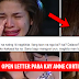 """TO ANNE THAT GOT AWAY"" Basahin ang Isang Open Letter Para kay Anne Curtis!"