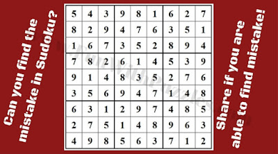 Can you spot the mistake in less than five seconds?