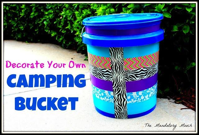 DIY Camping Bucket