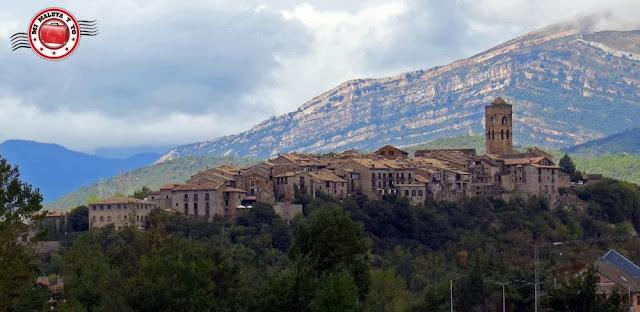 Aínsa, Huesca, España