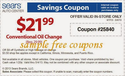 photograph about Sears Auto Printable Coupons called Sears motor vehicle centre coupon 2018 / Coupon plymouth mn