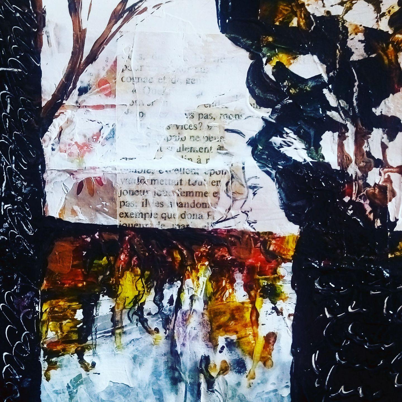 Elobibie: Peinture abstraite Poétique II