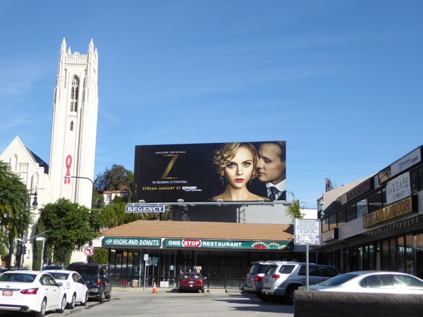 Z Beginning of Everything billboard