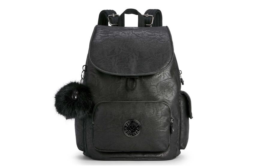kipling rucksack schwarz gewinnsoiel