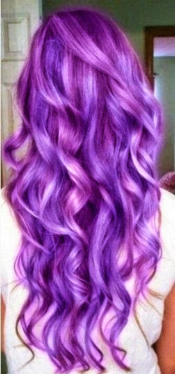 Stunning Purple Hair Trend for Women