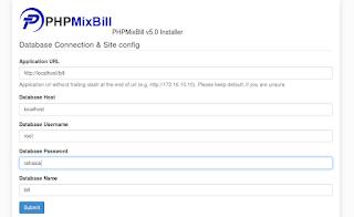 konfigurasi database phpmixbill sebagai billing mikrotik